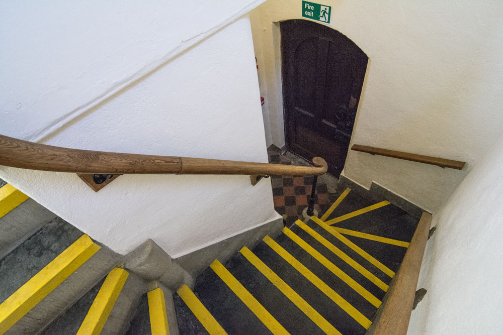 Stairs - The Old Grammar School